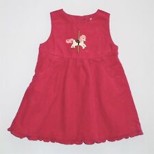 "Gymboree ""Carousel Ride"" Carousel Horse Pink Corduroy Jumper Dress, 18-24 mos."