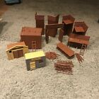TIMPO TOYS VINTAGE USA 7th CAVALRY UNBOXED WILD WEST FORT SET RARE
