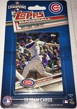 2017 Topps Factory Sealed Chicago Cubs World Series Champions Team Set Limited !