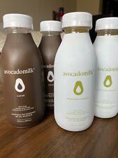 Avocado Milk 4 pack (2 cacao, 2 original) preservative free, dairy free