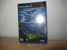 PS2 Hot Wheels Velocity X Maximum Justice, UK Pal, New & Factory Sealed