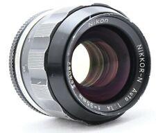 Nikon Nikkor-N Auto 35mm F/1.4 Lens Excellent⁻ No. 364082