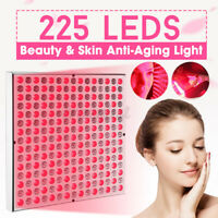 225 Led Anti-Aging Therapy Panel 660nm 850nm Near Infrared Therapy Light 45W New
