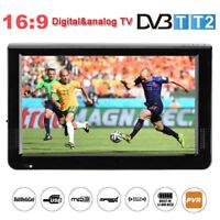 """12.1"""" 1080P Full HD TFT LED TV Digital Televisión DVB-T PVR ATV MP5 USB HDMI TF"""