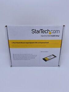 StarTech ECUSB3S11 1 Port Flush Mount Slim SuperSpeed Expresscard USB 3.0