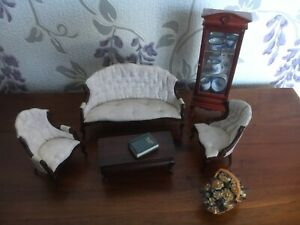 Doll House Sitying Room Furniture 1/12 scale