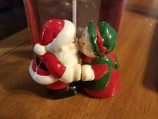 Pfaltzgraff 2pc Santa and Mrs Claus salt & pepper set