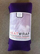 De-Luxe Soft Fleece Heat pack. Lavender & Wheat bag - PURPLE
