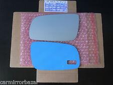 501LF Volkswagen Golf Jetta Cabrio Passat Mirror Glass + PAD Driver Side Left LH