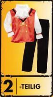 Kinder Kostüm Vampir Graf Dracula Grusel dreifarbig Halloween Horror Fasching S