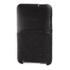 Hama captura fiberblack Mp3 Trasera Carcasa Para Ipod Touch (2g/3g) - Negro