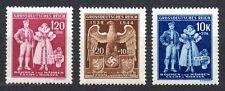 Germany / Bohmen und Mahren - 1944 5 years german protectorate Mi. 133-35 MNH