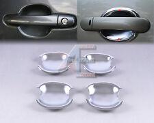 Triple Chrome Door Handle Cup Bowl for Toyota Corolla 2003+ Yaris Vios 2006-2010