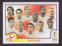 Panini - Korea Japan 2002 World Cup - # 421 England Team Group