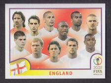 Panini - Korea Japan 2002 World Cup - # 421 England Team Group