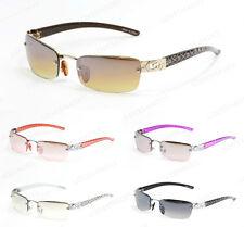 New Womens DG Small Rimless Rectangular Frame Sunglasses Classic Shades Fashion