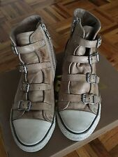 Ash Leather Sneakers - Clay, 37