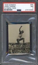 1936 Kosmos JESSE OWENS #95 PSA 7 NM Olympic Card HIGHEST GRADED