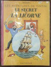 [BD] Le Secret de la Licorne - Tintin - Hergé - Bruxelles, 1950