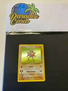 Carte Pokemon RARE HOLO Tygnon Set de Base 7/102 Wizards Fr