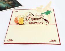 3D Pop Up Birthday Cards Tinker Bell Happy Birthday AU SHOP
