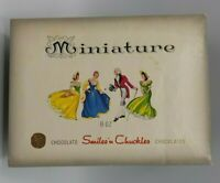 Vintage 1960's Miniature Smiles n Chuckles Candy Empty Box BIN 9