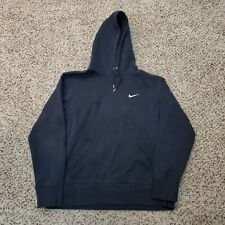 Nike Embroidered Swoosh Hoodie Black Size L