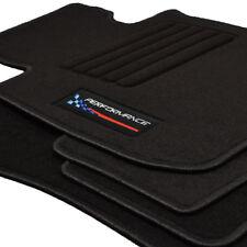 Fußmatten passend für BMW 3er E90 E91 ab Bj 2005 - Velours Logo Autoteppiche