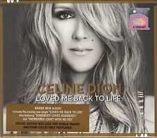 CELINE DION Love Me Back To Life 2013 MALAYSIA DELUXE CD +4 COLLECTIBLE POSTCARD