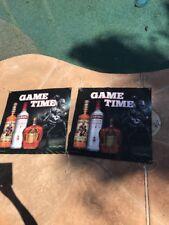 Game Time Captain Morgan Smirnoff Crown Royal Poster Display Bar X 2