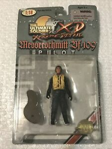 Ultimate Soldier 21st Century German Luftwaffe Messerschmitt Bf 109 Pilot 1:18