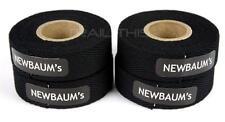 4-Rolls Newbaums Cotton Cloth Road Bike Handlebar Bar Tape Wrap Newbaum's BLACK