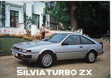 NISSAN SILVA TURBO ZX BROCHURE.