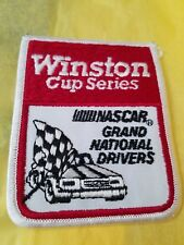 Nascar Winston Cup Series Grand National Drivers  embroidered Patch