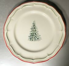 NEW Dinner Plate Filets Noël Pattern GIEN