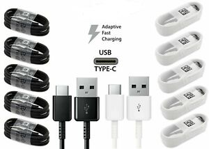 For Samsung USB Type C Cable Fast Charge Data Cable for Galaxy S10 S9 S8 Note 8