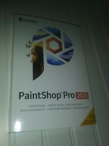 NEW/SEALED Corel Paintshop Pro 2020