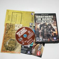 Brothers in Arms Road to Hill 30 PC DVD Game Big Box Set Manuals TESTED WORKING