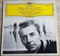 Liszt Ungarische Fantasie für Piano und Orchester Karajan Cherkasky DGG 54247