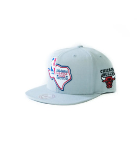 Mitchell Ness Chicago BULLS 36th ANNUAL ALL STAR GAME DALLAS 1986 GREY Snapback