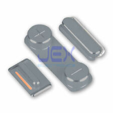 Slate Gray Button Set For iPhone 5S/SE Volume, Silent/Mute Switch Power on/off