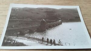 People by Elan  Valley Craig Goch Reservoir,  DAM Powys  RPPC