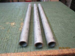 3 Edelstahl-Rohr DM 28mm WS 3,0mm 1.4301 L 400mm+328mm Neu1