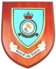 RAF ROYAL AIR FORCE FIREFIGHTING AND RESCUE CLASSIC STYLE HAND MADE MESS PLAQUE
