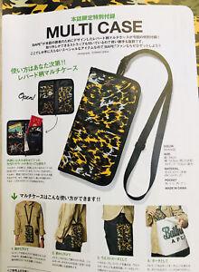 WOW ORIGINAL A BATHING APE BAPE JAPAN LIMITED TIGER CAMO TASCHE BAG CASE SELTEN!