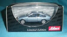 976 Schuco 2951 Opel Monza A aquamarinblau maquette auto 1/43