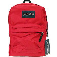 New Authentic Jansport Superbreak RED TAPE Backpack School Bag super break