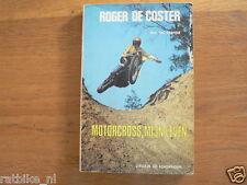 ROGER DE COSTER MOTORCROSS, MIJN LEVEN DOOR VIC VERMEIR 1974,SUZUKI