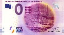 98 MONACO Musée océanographique, Navire, 2017, Billet 0 € Souvenir