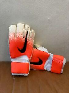Nike GK Premier Gunn Cut Promo Goalkeeper Orange White Gloves Size 8 PGS267-100